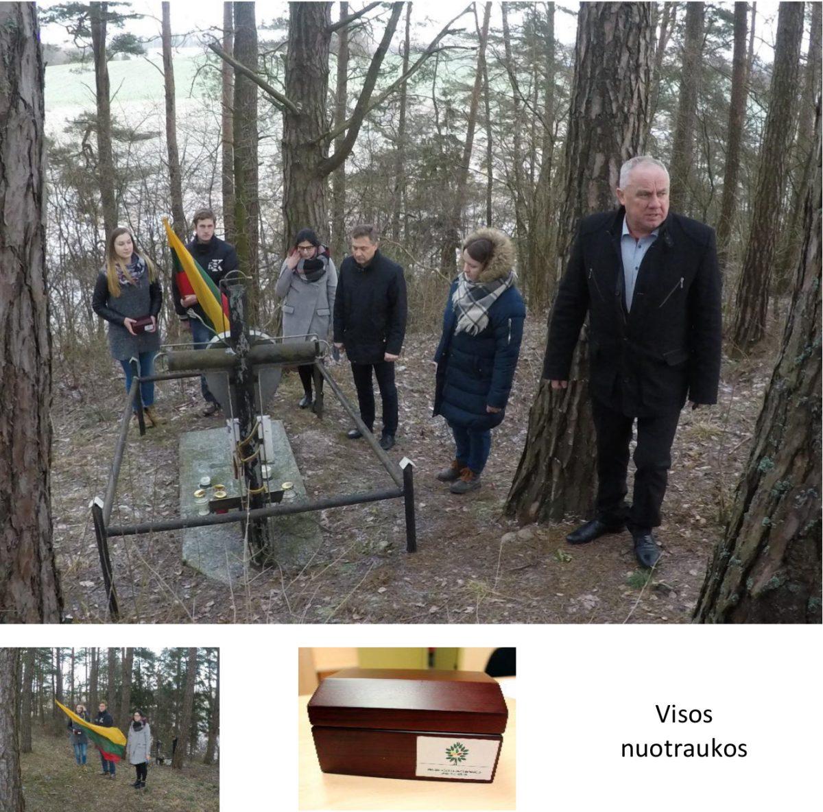 Žemės paimtos iš Lietuvos partizanų žuvimo vietos Šlynakiemyje