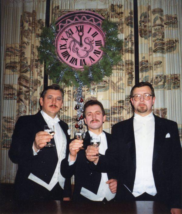 Gediminas Maciulevičus, Danielius Vėbra, Juozas Janušaitis, 1995 gruodis