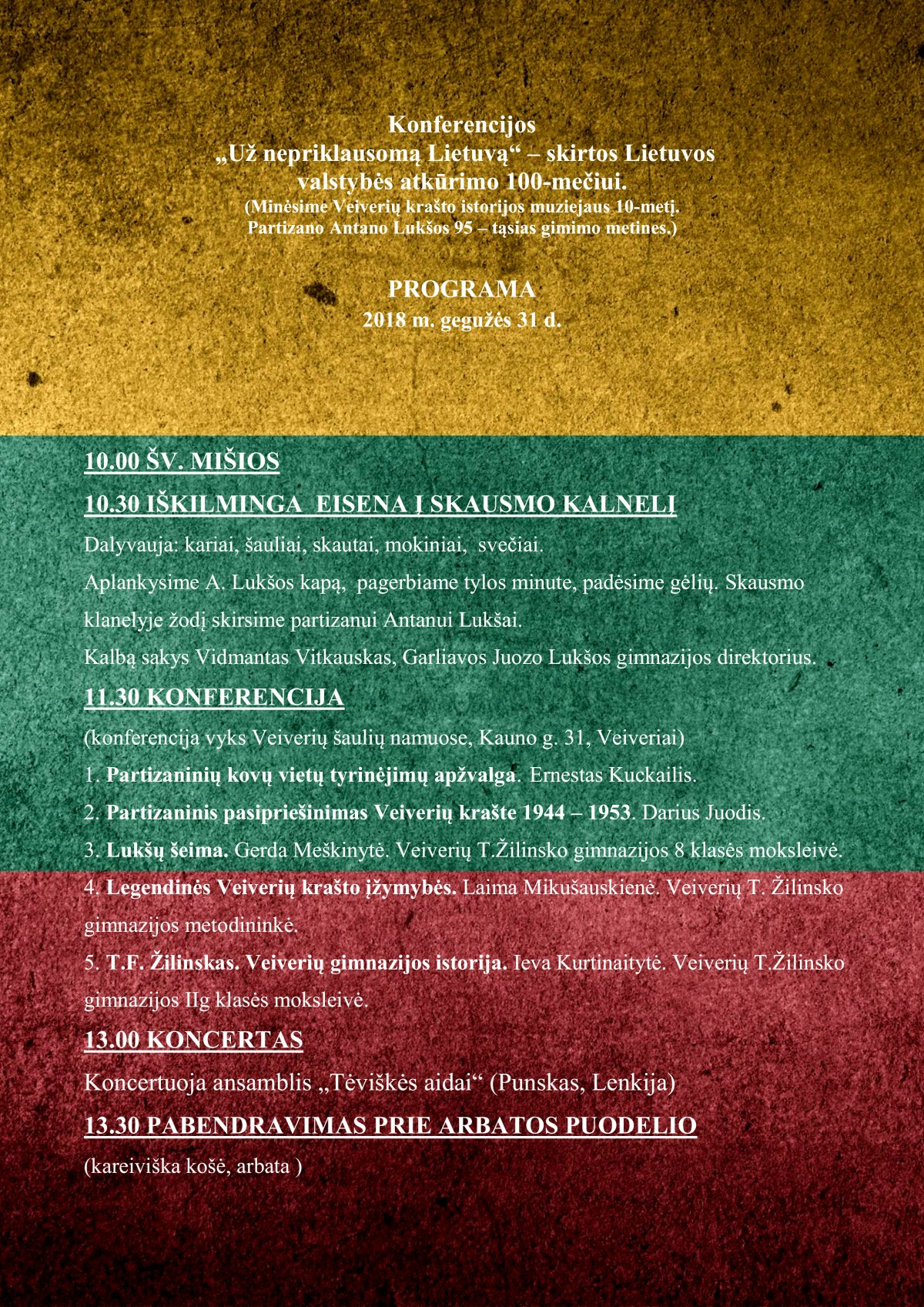 _Programa_Už nepriklausomą Lietuvą