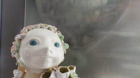 """Ilonos June-Junevičienės pastelės ir keramikos paroda """"Iki pasimatymo, žeme"""""""
