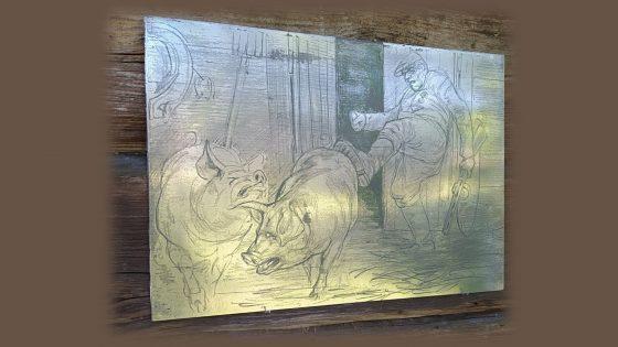 Mindaugo Lukošaičio grafikos kūrinių paroda