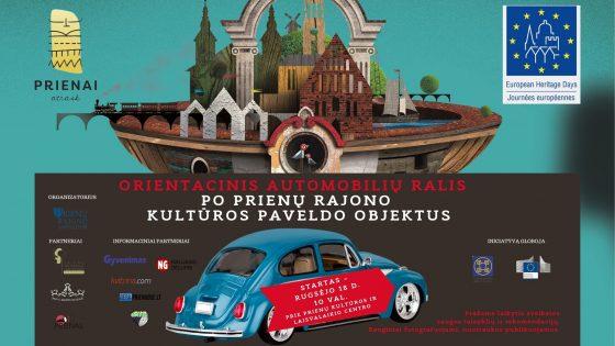 Orientacinis automobilių ralis po Prienų rajono kultūros paveldo objektus
